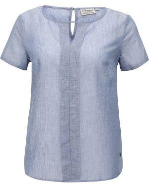 Голубая блузка хлопковая Finn Flare