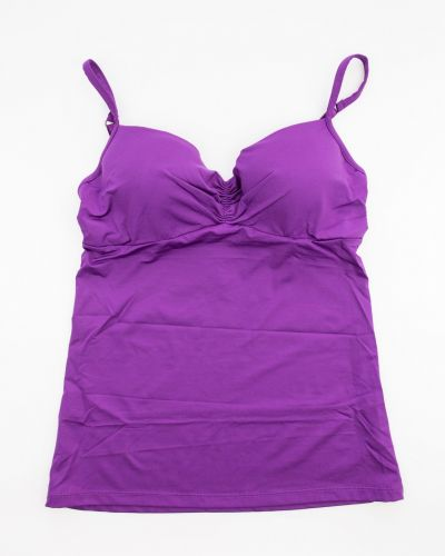 Фиолетовый хлопковый топ Lascana