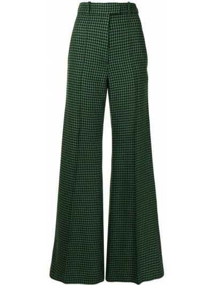 Czarne spodnie bawełniane Racil