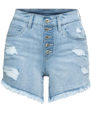 Джинсовые шорты синий Bonprix