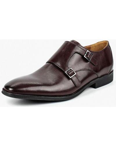 Коричневые туфли Clarks