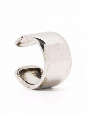 Кафф - серебряные Alexander Mcqueen
