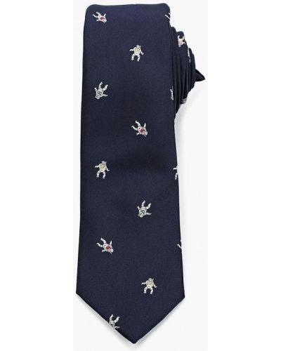 Синий галстук Topman