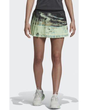 Плиссированная юбка для тенниса теннисный Adidas