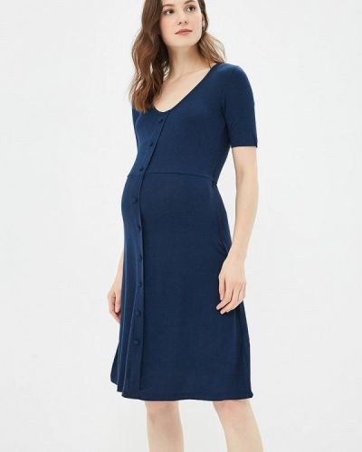 Синее платье осеннее Dorothy Perkins Maternity