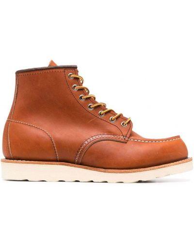 Ботильоны на шнуровке - коричневые Red Wing Shoes