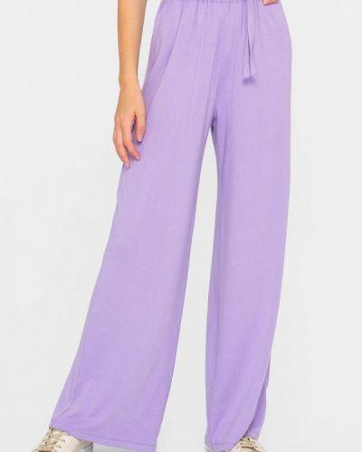 Повседневные фиолетовые брюки Shtoyko