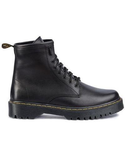 Замшевые ботинки челси - черные Vadrus