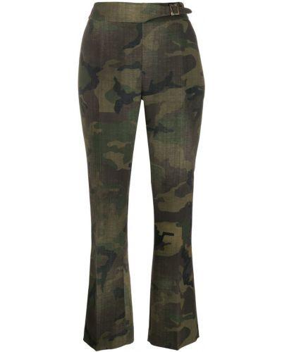 Брюки с завышенной талией брюки-хулиганы с карманами Ermanno Scervino