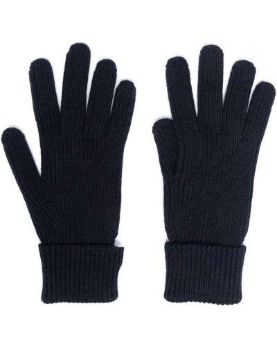 Rękawiczki wełniane - niebieskie Woolrich