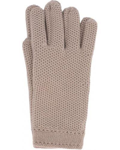 Перчатки вязаные кашемировые Loro Piana