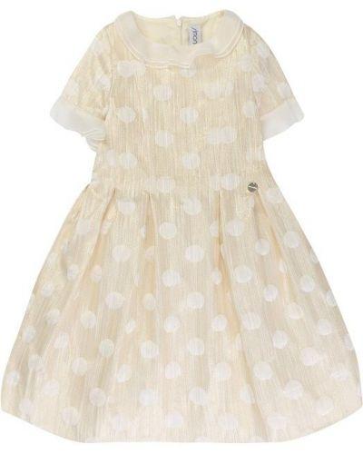 Платье миди с поясом на торжество Simonetta