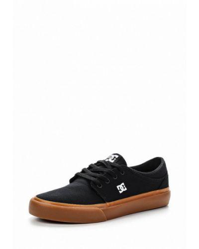 Черные низкие кеды Dc Shoes