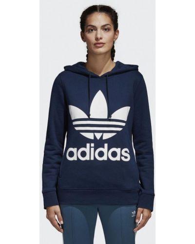 Синяя толстовка Adidas Originals