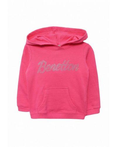 Розовая толстовка 2018 United Colors Of Benetton