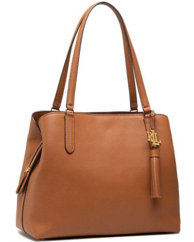Brązowa torba na ramię Lauren Ralph Lauren