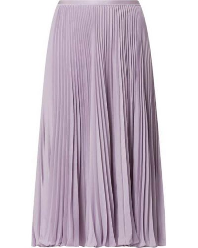Fioletowa spódnica midi rozkloszowana Polo Ralph Lauren