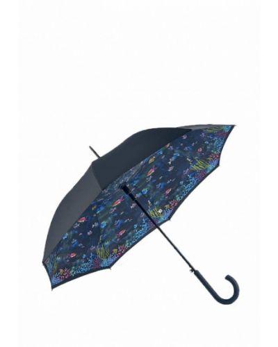 Черный зонт-трость Fulton