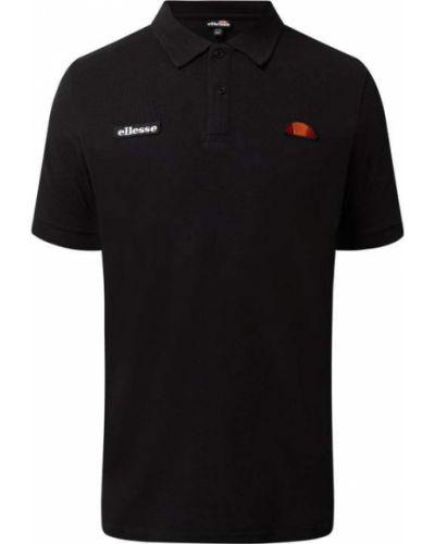 Czarna koszulka bawełniana Ellesse