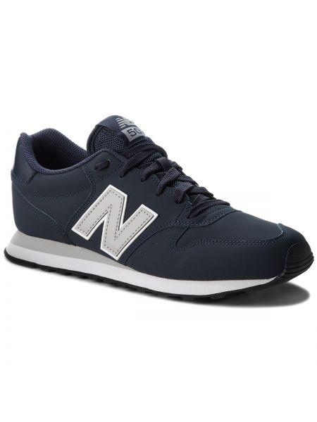 Skórzany sneakersy sztuczna skóra New Balance