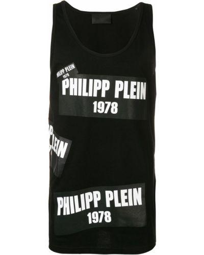 Топ черный Philipp Plein