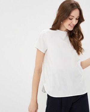Блузка с коротким рукавом белая весенний Froggi