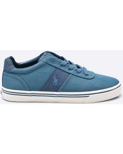 Голубые кеды Polo Ralph Lauren