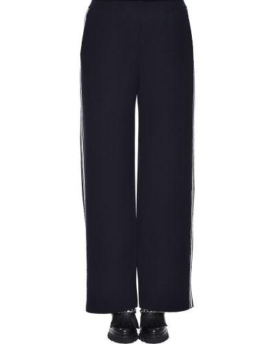 Спортивные брюки из вискозы черные Maerz