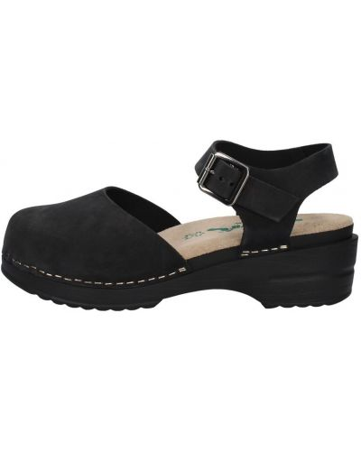 Czarne sandały Bionatura
