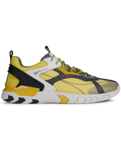 Żółte tenisówki Geox