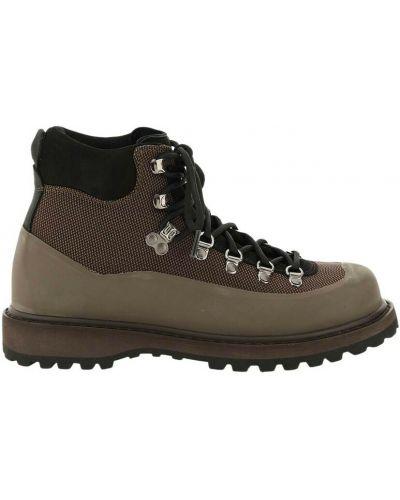 Brązowe ankle boots Diemme