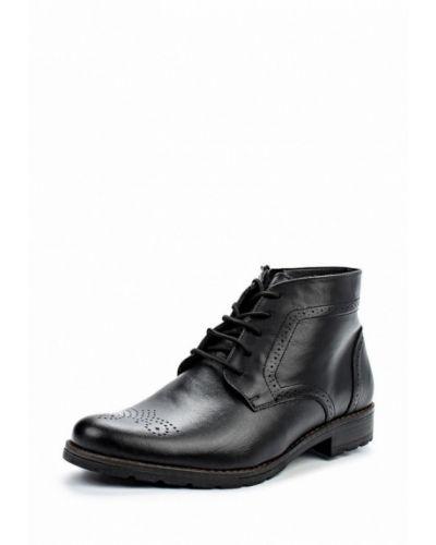 Ботинки осенние кожаные демисезонный Bekerandmiller