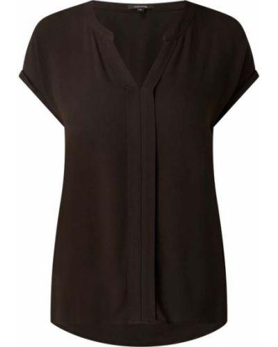 Czarna bluzka z wiskozy Comma
