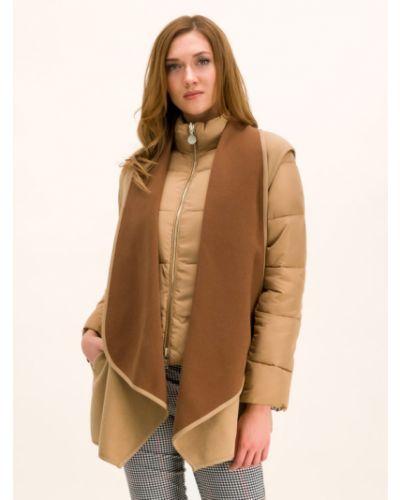 Brązowa kurtka puchowa Pennyblack