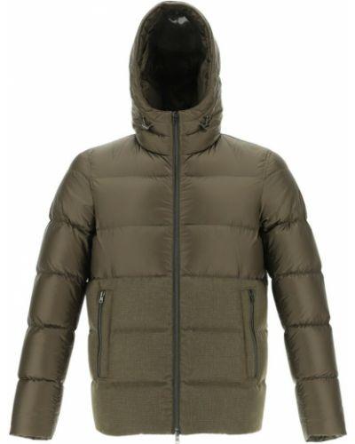 Płaszcz - zielony Herno