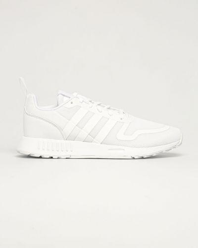 Ażurowe białe sneakersy sznurowane Adidas Originals