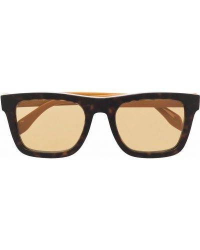 Żółte okulary Alexander Mcqueen Eyewear