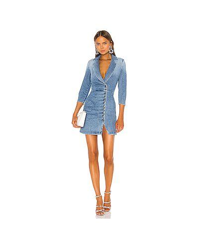 Платье мини винтажная с оборками Retrofete