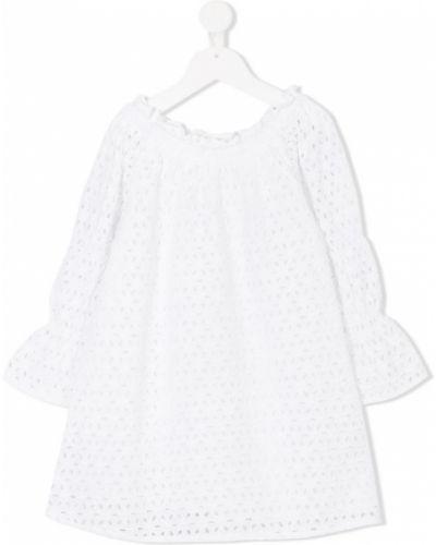 Платье с рукавами белое Tuchinda