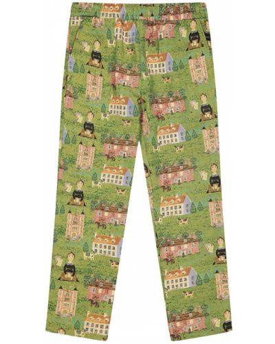 Zielone spodnie Chinatown Market