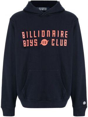 Синее худи с логотипом Billionaire Boys Club