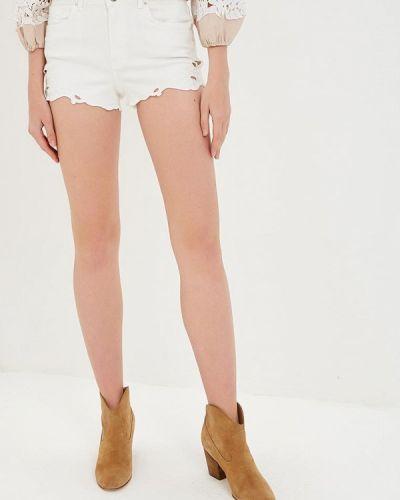 Джинсовые шорты белые турецкий Silvian Heach