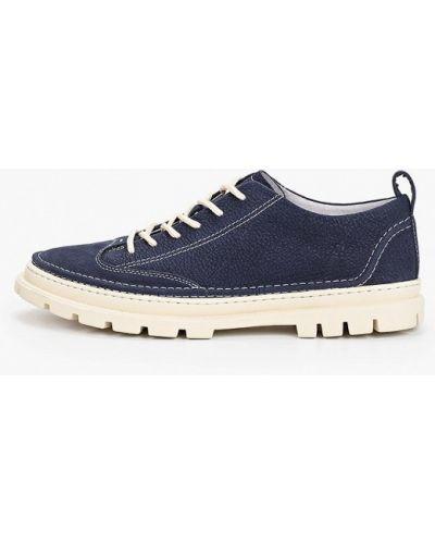 Синие ботинки из нубука Dino Ricci Trend