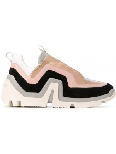 Кроссовки на шнуровке каркасный Pierre Hardy