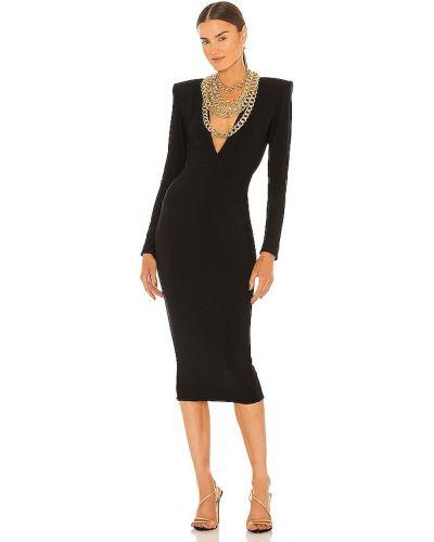 Czarna złota sukienka wieczorowa Zhivago