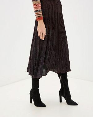 Платье бордовый плиссированное Ovs