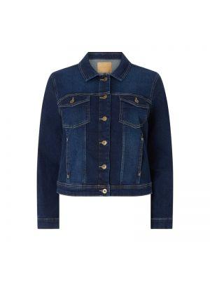 Niebieska kurtka jeansowa bawełniana Only Carmakoma