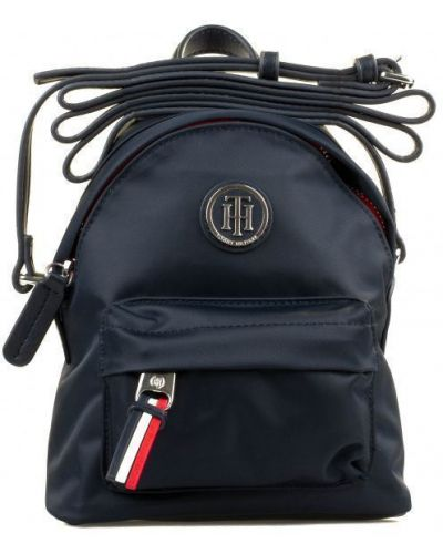 Сумка черная сумка-мешок Tommy Hilfiger
