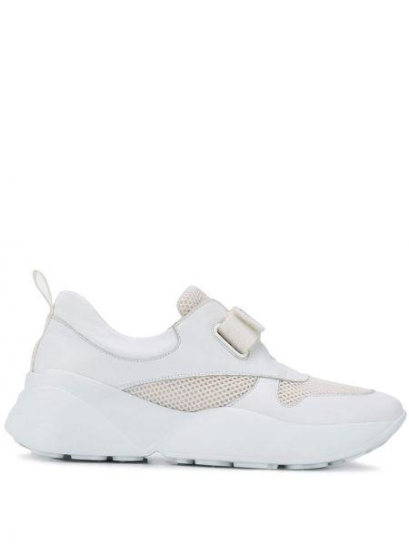 Sneakersy rzep białe Emilio Pucci