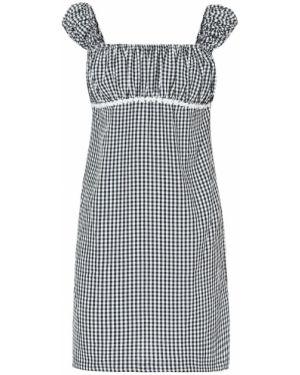 Платье мини в полоску с нашивками Solid & Striped